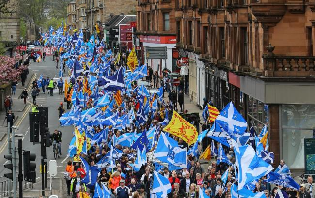 The All Under One Banner marches have drawn out as many as 100,000 attendees