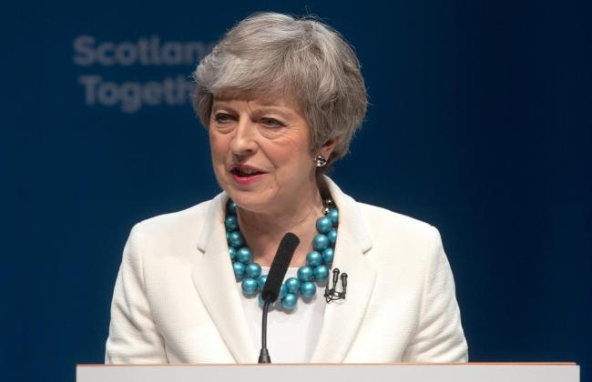 At the Scottish Tory conference yesterday, Theresa May urged the First Minister to respect the 2014 result