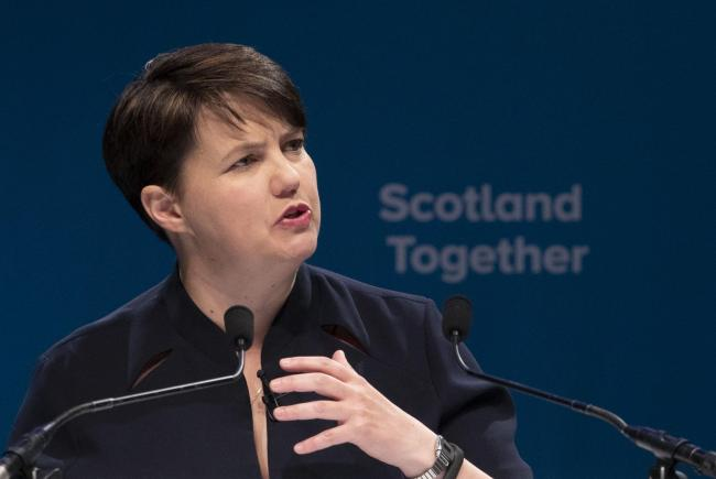 The political positions of Scottish Tory leader Ruth Davidson have mutated conveniently over the years