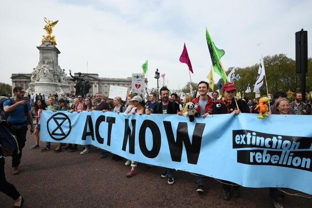 The National: Extinction Rebellion protests helped bring the climate emergency into political discourse