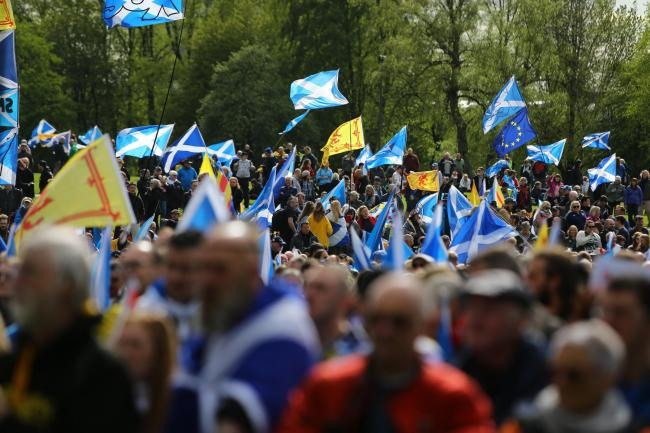 Glasgow's All Under One Banner march for independence attracted a huge crowd