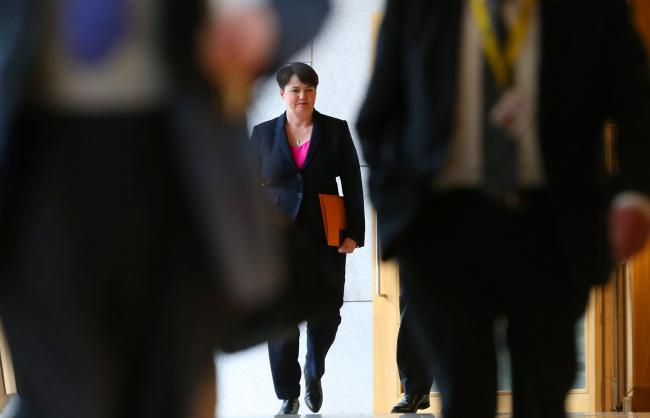 Ruth Davidson's return to Holyrood was met with a mix of responses