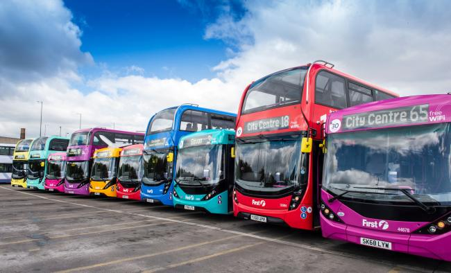 FirstGroup runs the First busses