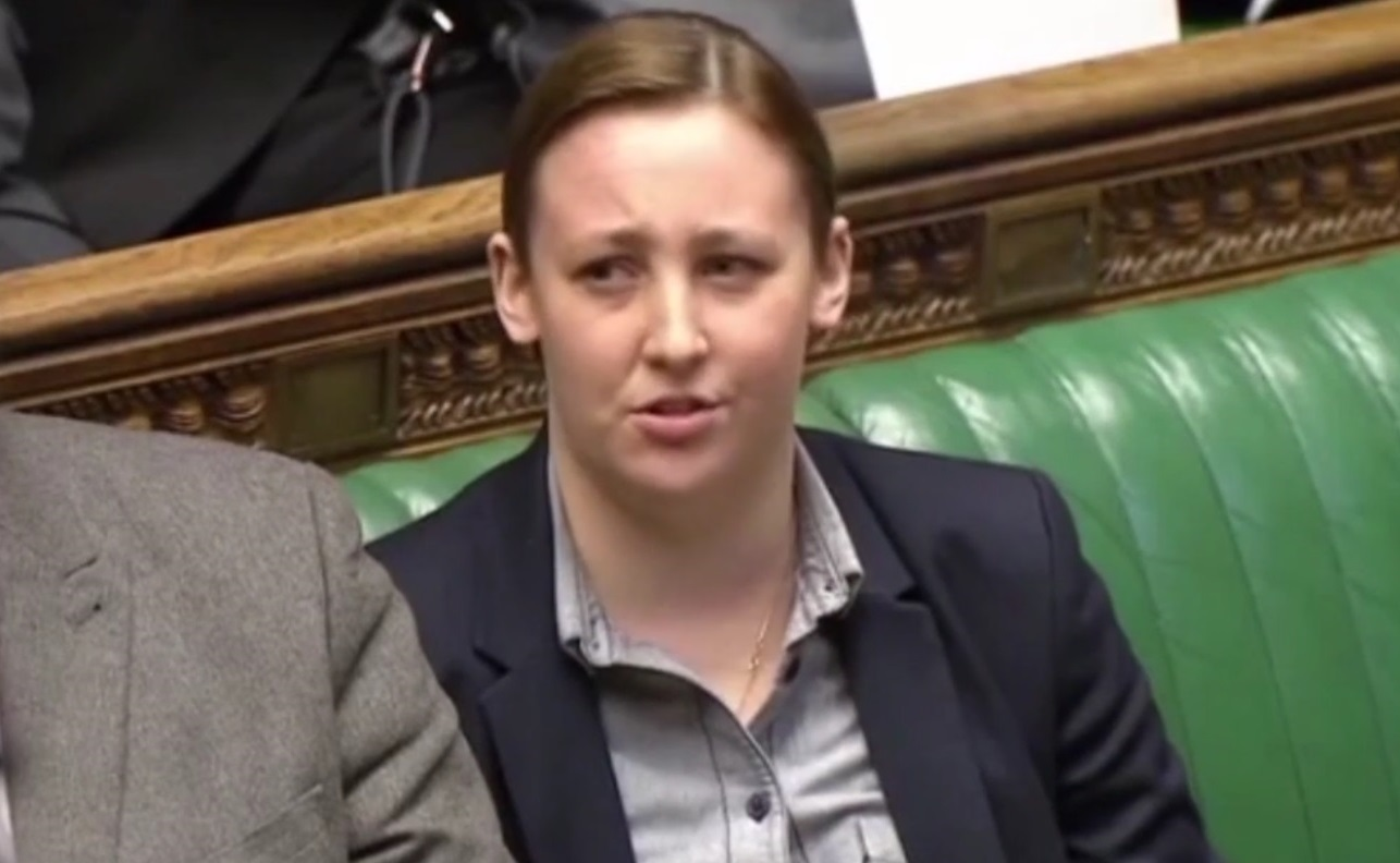 Mhairi Black asked the Scottish Secretary to 'get his story straight'