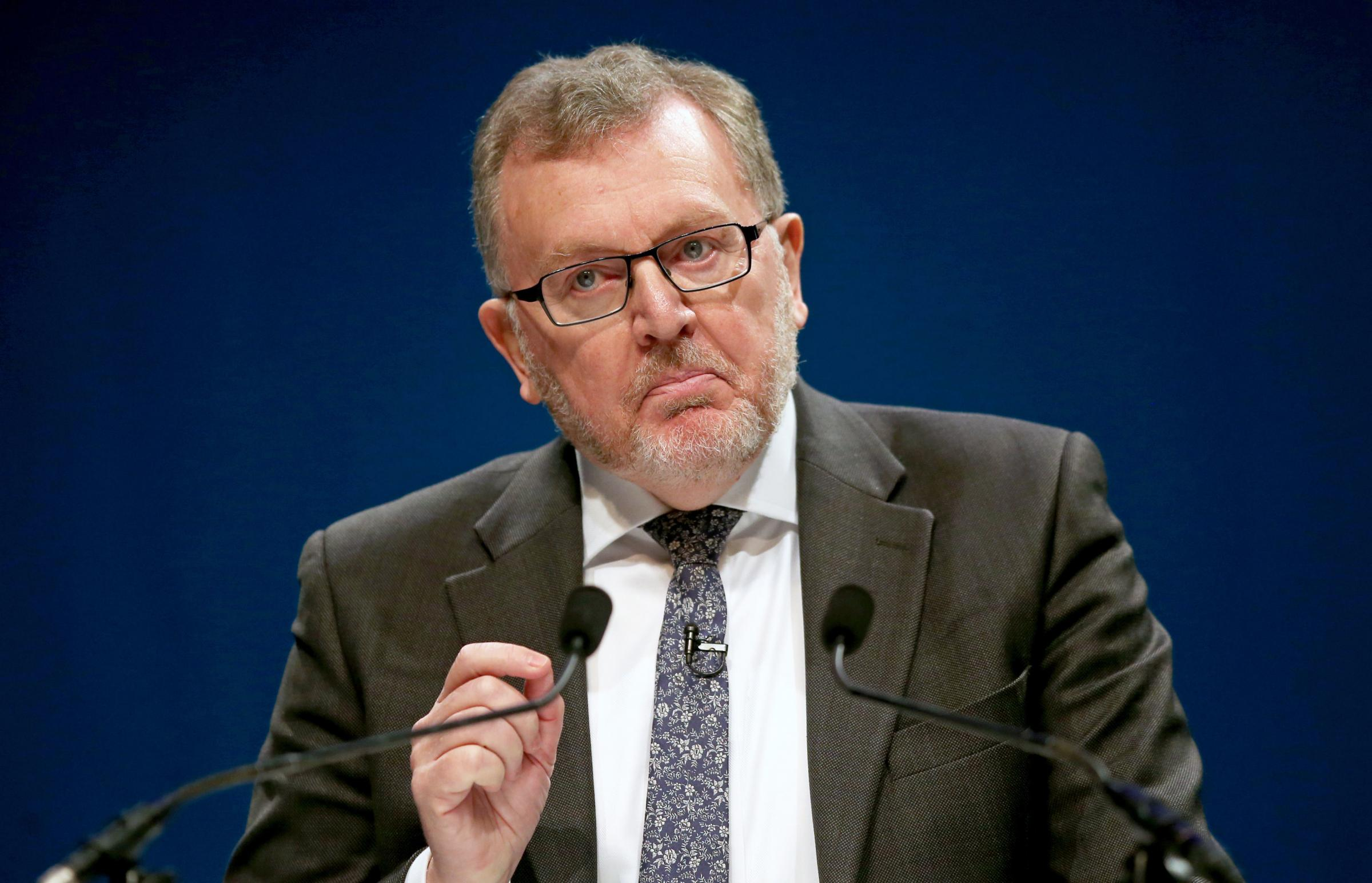 Scotland Secretary David Mundell came under pressure in the Commons