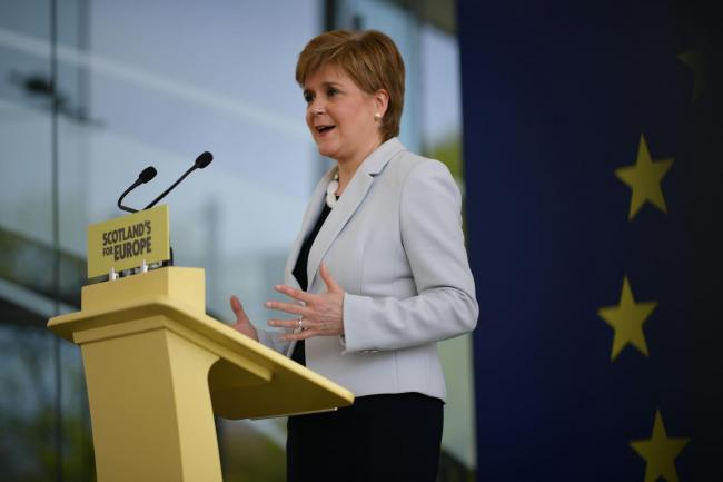 READ: Nicola Sturgeon's full speech at EU election campaign launch