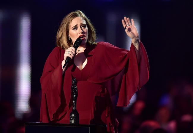 Adele's rise to stardom was rapid