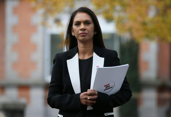 Gina Miller launched the Remain United campaign