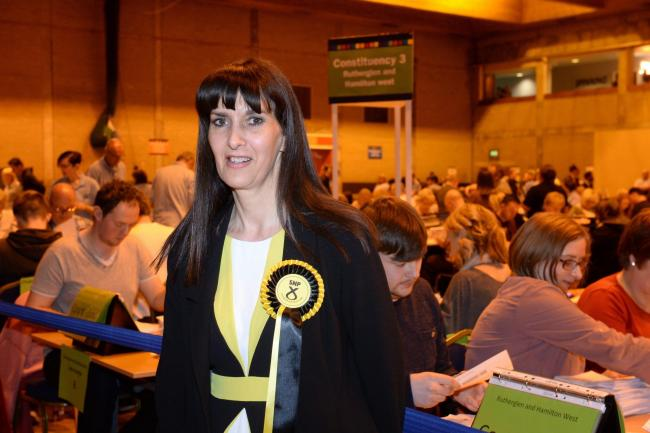 Margaret Ferrier is an SNP candidate in the European elections. Photograph: Kirsty Anderson