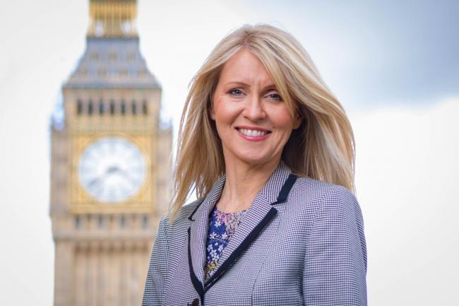 Esther McVey previously served as secretary of state for work and pensions