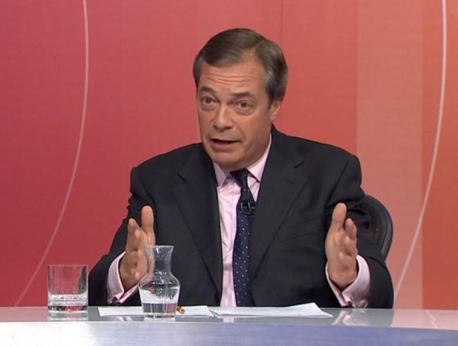 Nigel Farage delivers another ill-informed tirade