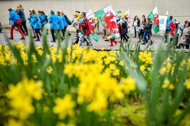 The first-ever Welsh independence march will take place in Cardiff today
