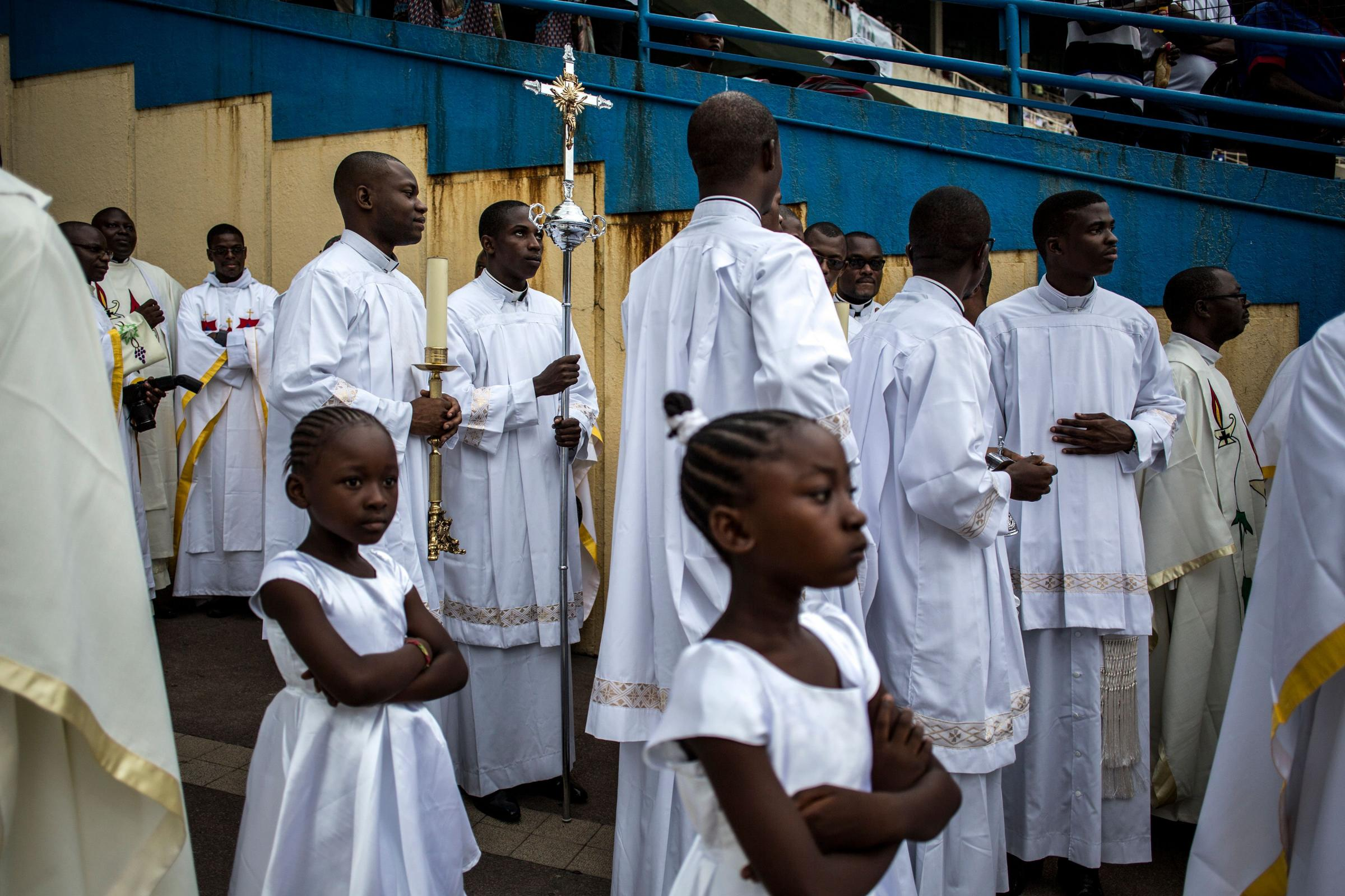 Traditionally, African priests have filled in for Scottish counterparts while they are on holiday