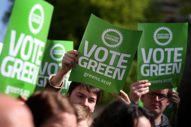 The National: Newspaper supports Scottish Greens