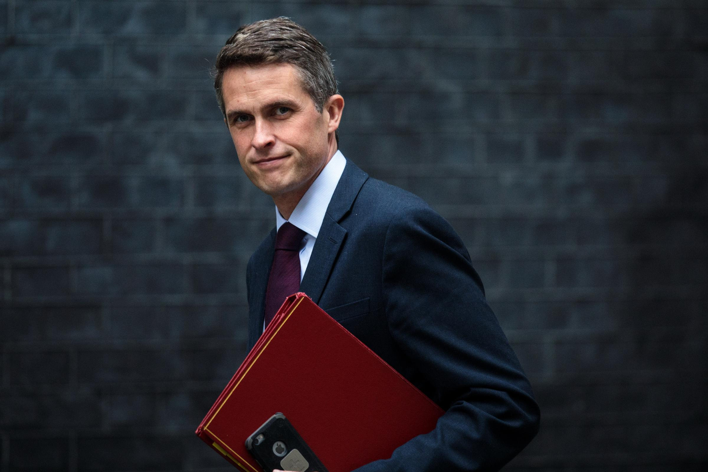 Former defence secretary Gavin Williamson lambasted Theresa May ahead of key talks with the opposition