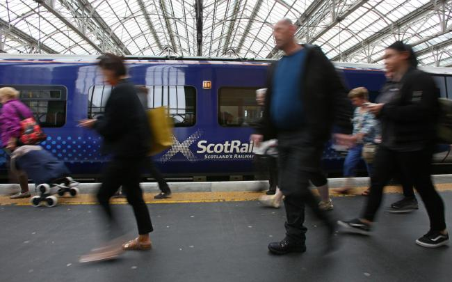 ScotRail said it was 'committed' to providing appropriate mental health support