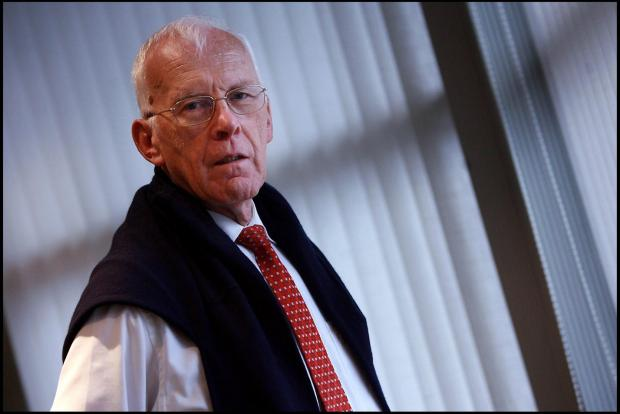 The National: Sir Ian Wood of Aberdeen was listed as the second richest in Scotland. Photograph: Stewart Attwood