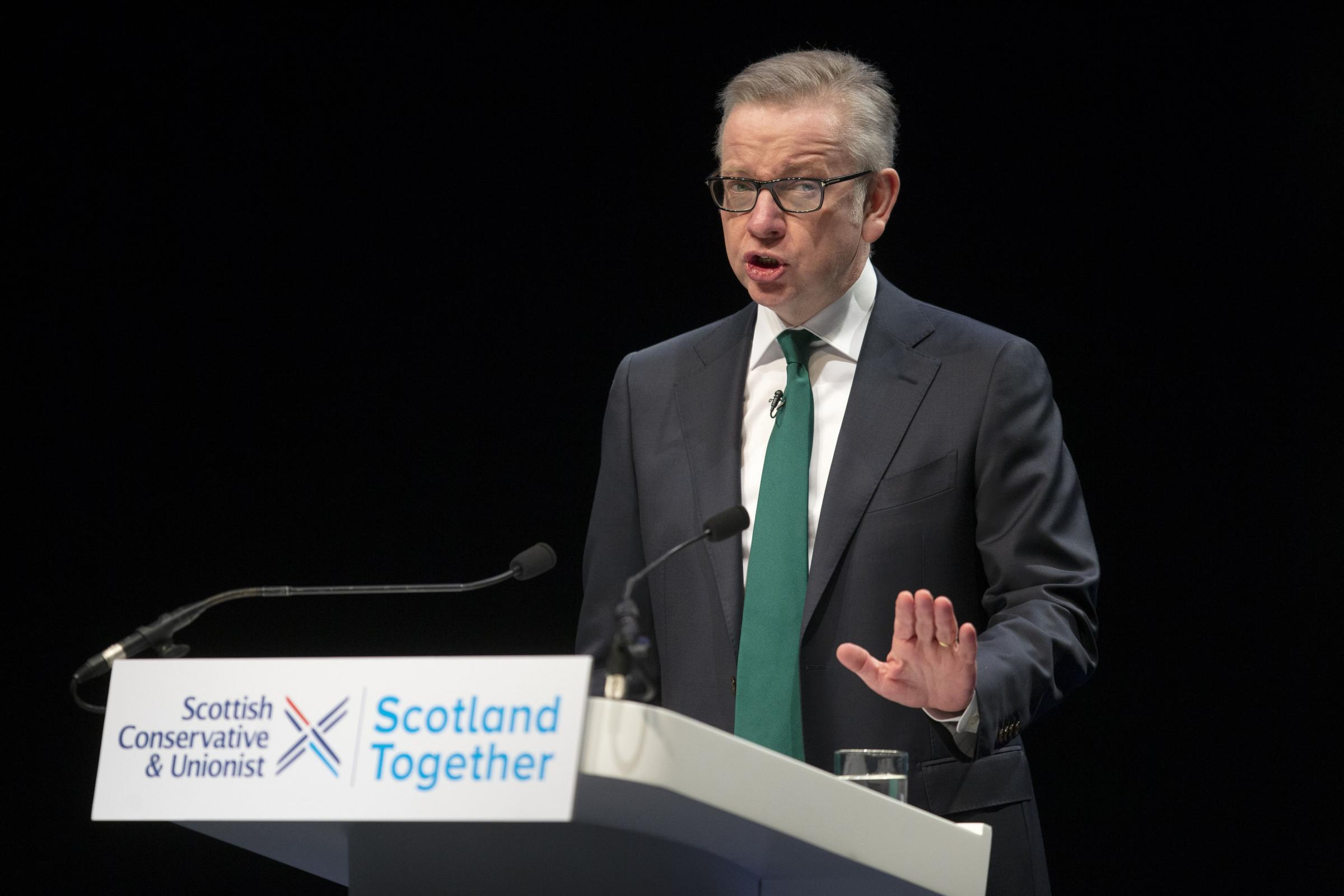 Michael Gove will appear via video link