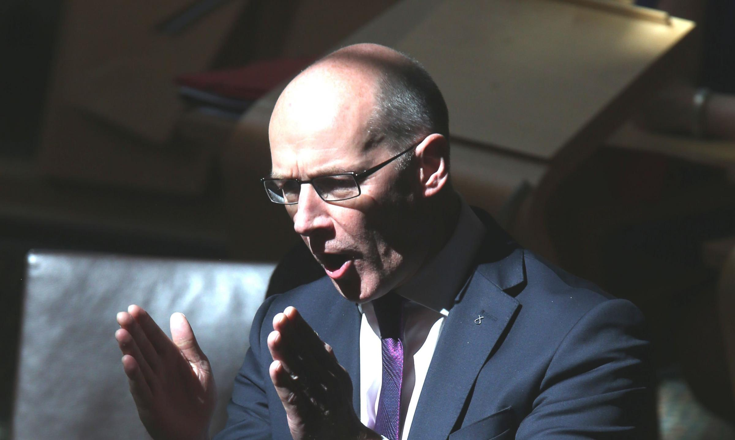 John Swinney said the move is a 'significant milestone Photograph: Gordon Terris