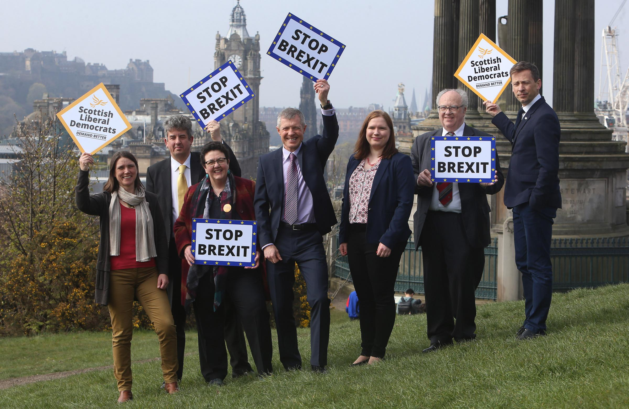 The Scottish LibDems have been handed a boost ahead of the EU elections
