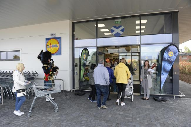 Lidl has emerged as an unlikely champion for Scotland