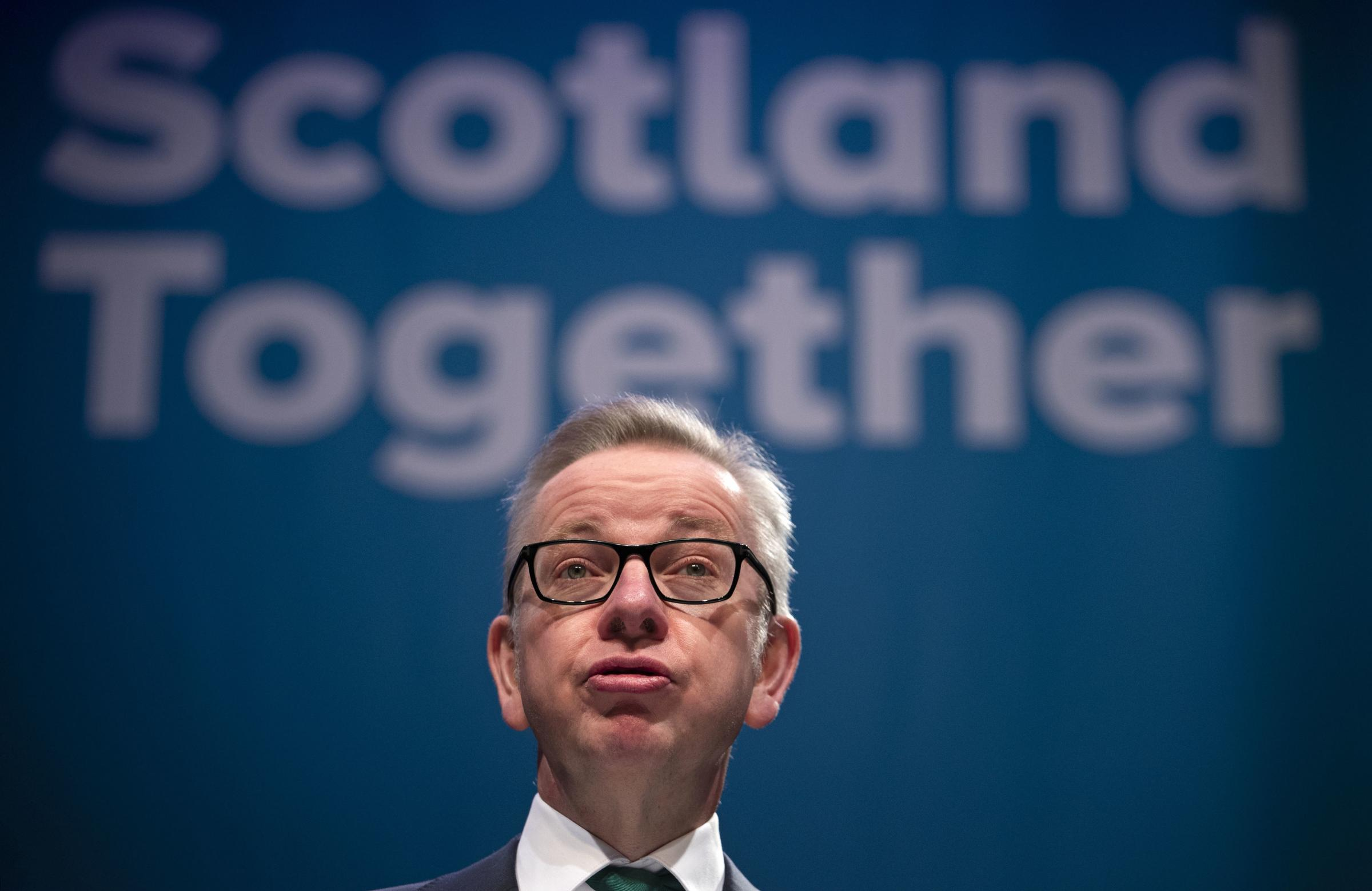 Environment Secretary Michael Gove says it is 'absolutely critical' Scotland has a say on future trade negotiations