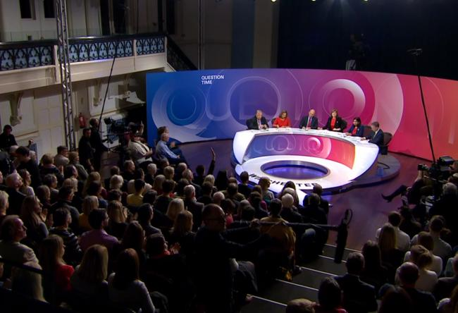 The Scottish Greens argued they should appear on the Question Time from Elgin tonight but the BBC said no
