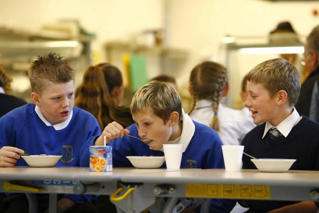 The Scottish Government introduced the free school meals policy four years ago