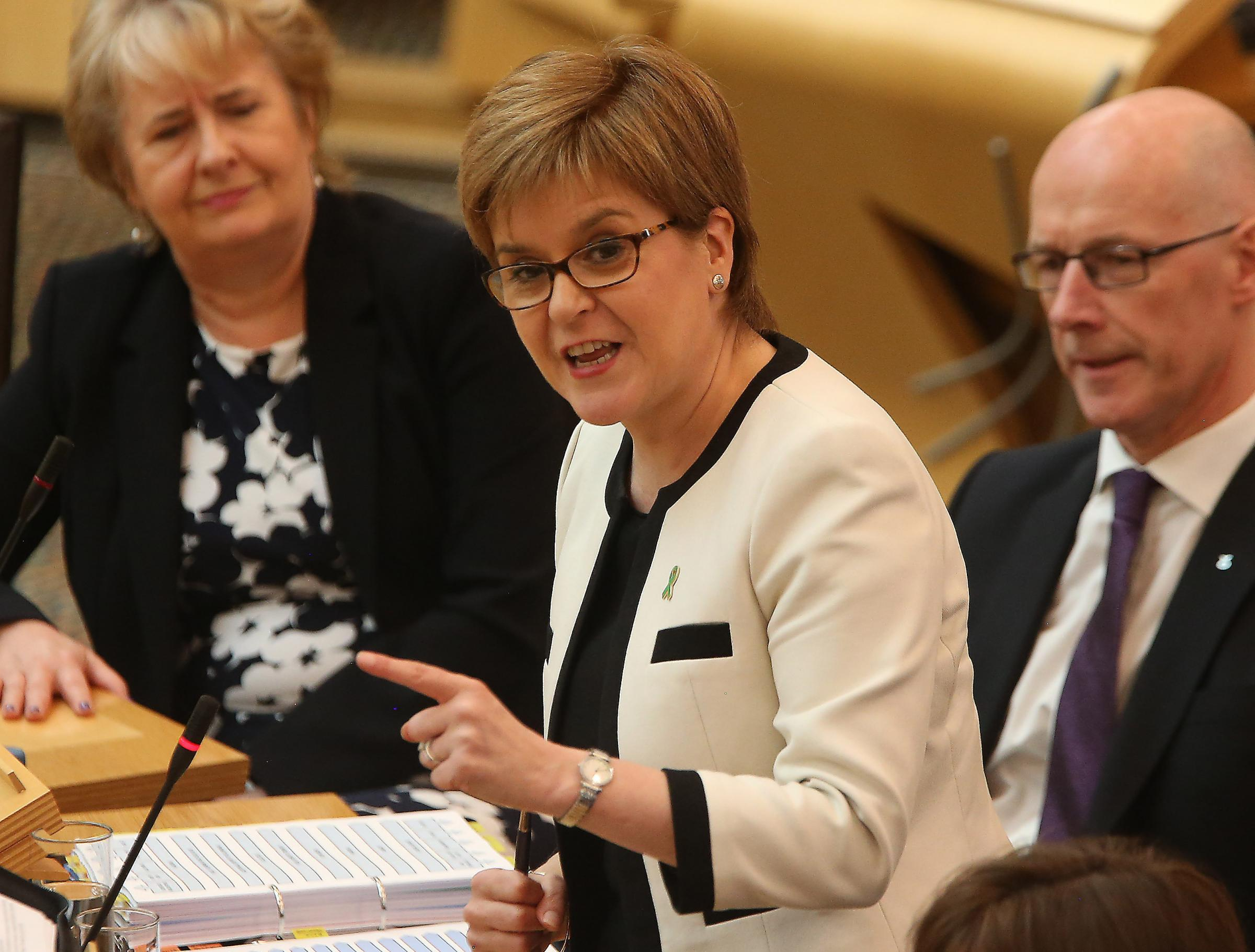 First Minister says hard Brexiteer PM would speed up indyref2