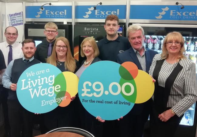 Excel Vending's employees have received a pay rise