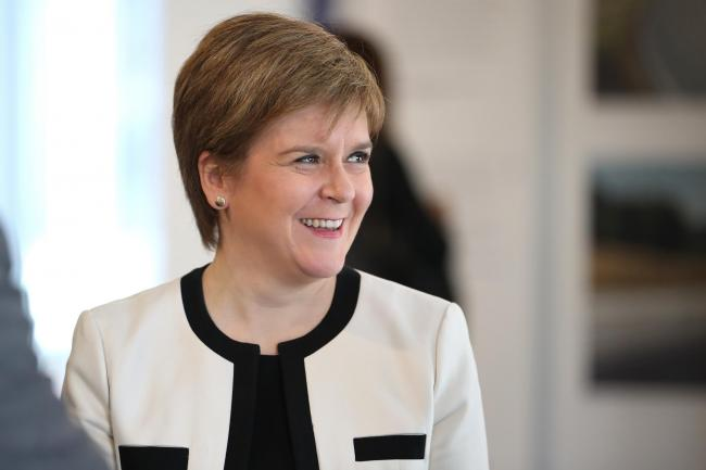 Nicola Sturgeon will address a Yes rally for the first time since 2014