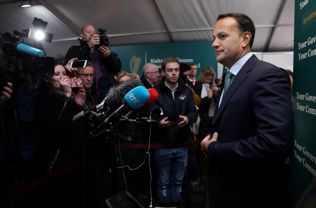 Leo Varadkar's Fine Gael party was down five points to 28% in a recent poll
