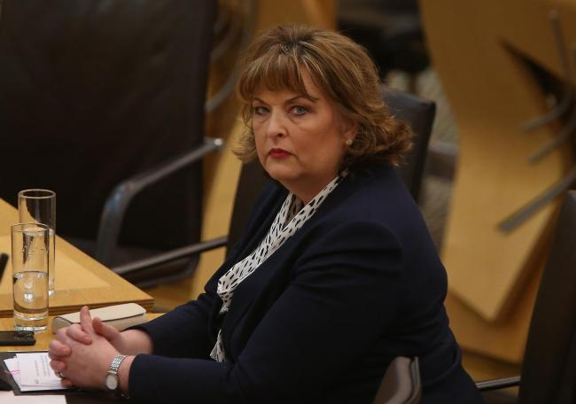 Fiona Hyslop met with bosses from the company