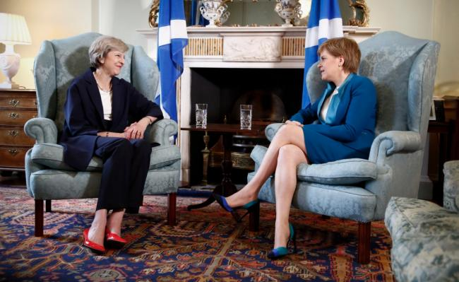 Nicola Sturgeon said Theresa May's resignation will not 'solve the Brexit mess'