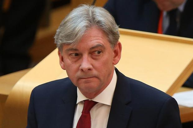 Tensions flared up in Scottish Labour as Richard Leonard took his party to a dismal result