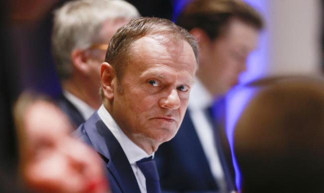 European Council president Donald Tusk suggested the PM had not proposed a 'realistic alternative' to the backstop