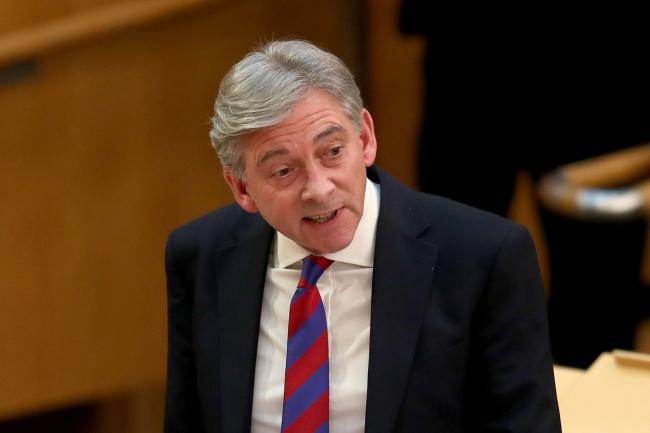 Scottish Labour leader Richard Leonard's position has been described as 'fundamentally undemocratic'
