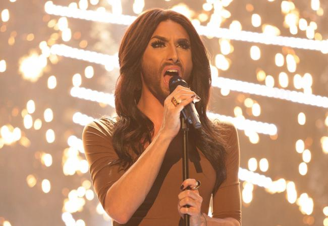 Eurovision winner Conchita Wurst cancelled a performance at the Edinburgh International Festival after three Syrian backing musicians were refused visas