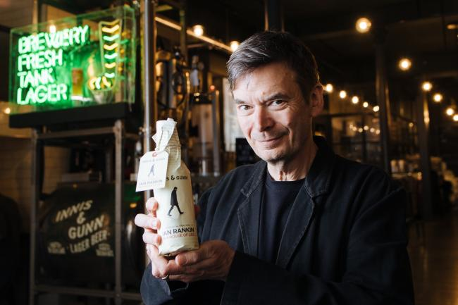 Novelist Ian Rankin has drawn comparisons between writing and the craft of brewing