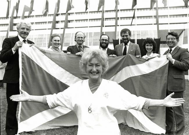 Aileen McLeod will be the first woman to represent the SNP as an MEP since Winnie Ewing
