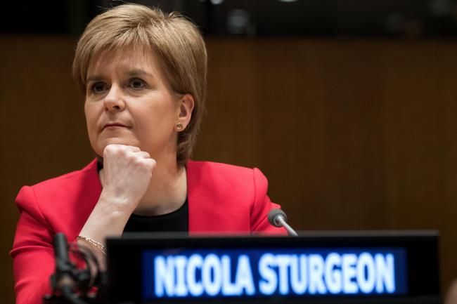 Nicola Sturgeon, head of Unesco ... in this vision of the future, at least