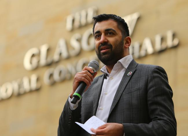 Justice Secretary Humza Yousaf welcomed the figures