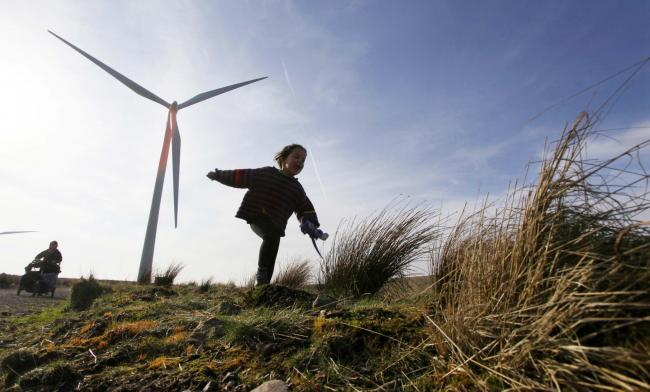 Whitelee wind farm is the largest onshore wind project in the UK