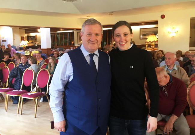The first indy roadshow last night saw Ian Blackford joined by MP Mhairi Black in the Highland village of Banavie