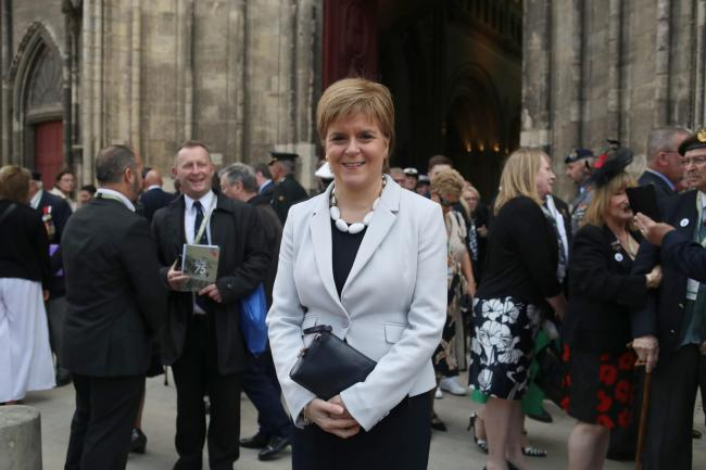 BBC Scotland did not include Nicola Sturgeon's speech in its 6.30pm news coverage of the D-Day commemorations