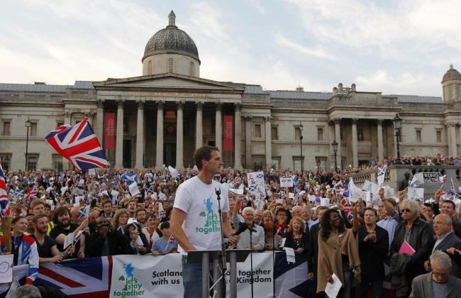 TV historian Dan Snow was one of the most prominent opponents of independence in the run-up to the 2014 referendum