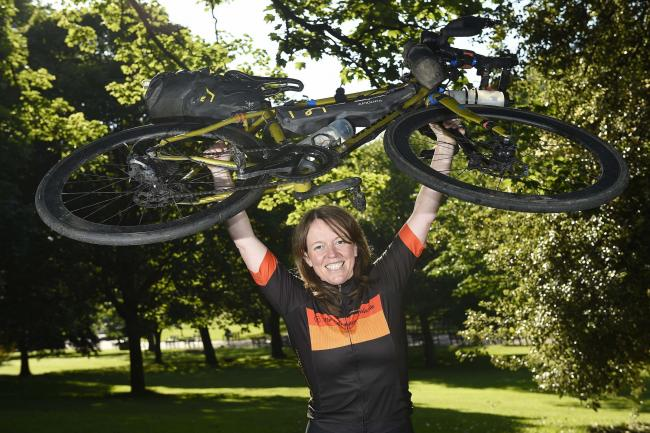 afd8c7d5602 Scots cyclist Jenny Graham sets new record for around-the-world trip ...