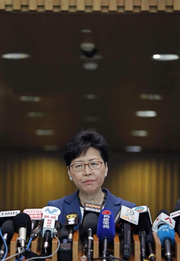The National: Carrie Lam