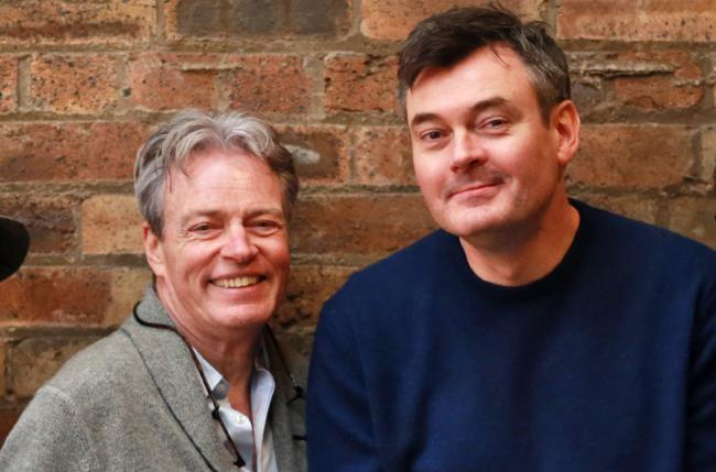Allan Stewart, left, and Grant Stott starred in a King's Theatre pantowhich sold 91,396 tickets
