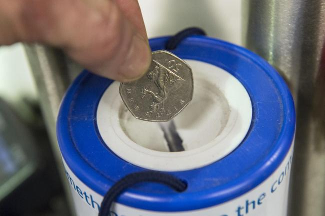 Scots more generous than rest of UK in charitable giving